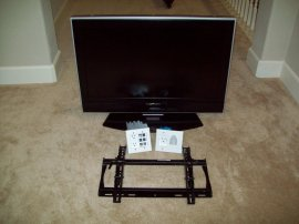 TV, Mount, Outlets/Faceplates